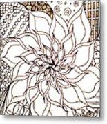 Full Bloom V Metal Print