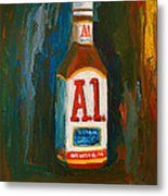 Full Flavored - A.1 Steak Sauce Metal Print