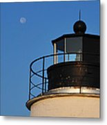 Full Moon At Piney Point Metal Print