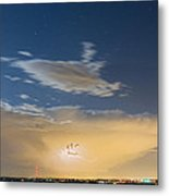 Full Moon Light Metal Print