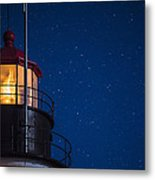 Full Moon On Quoddy No 2 Metal Print