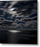 Full Moon On The Bay Of Fundy Metal Print
