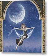 Full Moon Swing Metal Print by Nickie Bradley