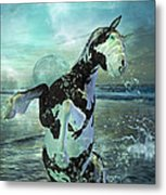 Full Moon Twist And Shout Metal Print