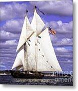 Full Sails Ahead Metal Print