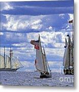 Full Sails Metal Print