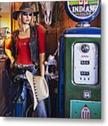 Full Service Route 66 Gas Station Metal Print