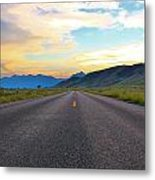 Full Speed Ahead Metal Print