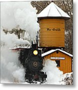 Full Steam Ahead Metal Print by Ken Smith