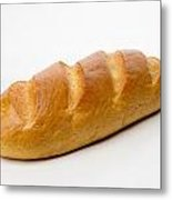 Full White Bread Metal Print