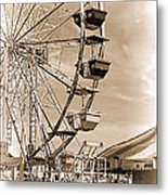 Fun Ferris Wheel Metal Print