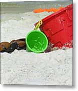 Fun In The Sun Metal Print