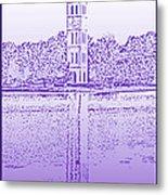 Furman Bell Tower Metal Print