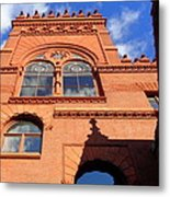 Furness Library Metal Print