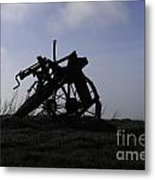 Furrow Plough Metal Print