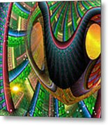 Further Up The Number Line Metal Print