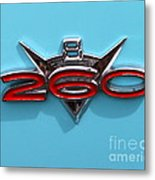 Futura Emblem Metal Print