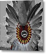 Future Chief Metal Print