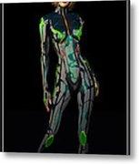 Future Woman... Metal Print