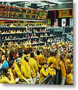 Futures And Options Traders Chicago Metal Print