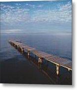 Fv2549, Mattthew Plexman Long Dock Out Metal Print