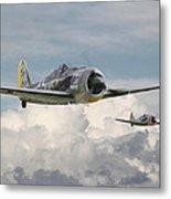 Fw 190 - Butcher Bird Metal Print