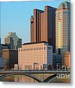 Fx1l922 Columbus Ohio Skyline Photo Metal Print