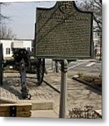 Ga-029-5 The Athens Double-barrelled Cannon Metal Print