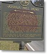 Ga-104-1 Joshua Hill Home Metal Print