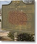 Ga-108-5 Eagle Tavern Metal Print
