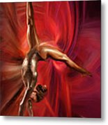 Gabby Douglas Gymnasts Metal Print by Blake Richards