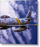 Gabby's F-86e Metal Print