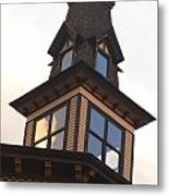 Gables In The Light Metal Print