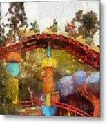 Gadget Go Coaster Disneyland Toontown Photo Art 02 Metal Print