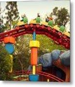 Gadget Go Coaster Disneyland Toontown Metal Print