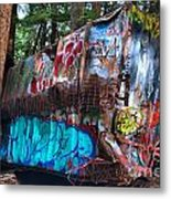 Gaffiti In The Candian Forest Metal Print