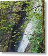 Gainfeld Waterfall In Spring Austria Metal Print