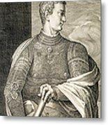 Gaius Caesar Caligula Emperor Of Rome Metal Print