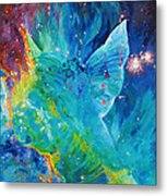 Galactic Angel Metal Print