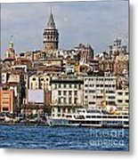 Galata Tower 03 Metal Print