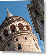 Galata Tower 04 Metal Print