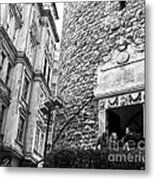 Galata Tower Entry 02 Metal Print
