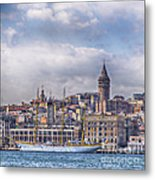 Galata Tower Istanbul Metal Print