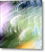 Galaxy Colors Metal Print