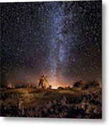Galaxy Rising Metal Print