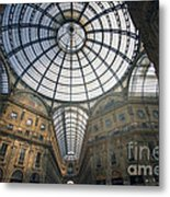 Galleria Vittorio Emanuele II - Milan Metal Print