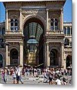 Galleria Vittorio Emanuele. Milan Metal Print