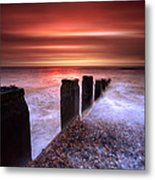 Galley Hill Sunrise Metal Print by Mark Leader