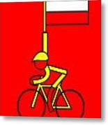 Gallopin In Yellow Tomorrow On Bastille Day Metal Print