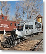 Galloping Goose 7 In The Colorado Railroad Museum Metal Print